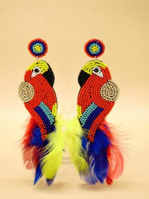 σκουλαρίκια parrot