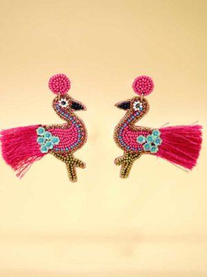 σκουλαρίκια peacock