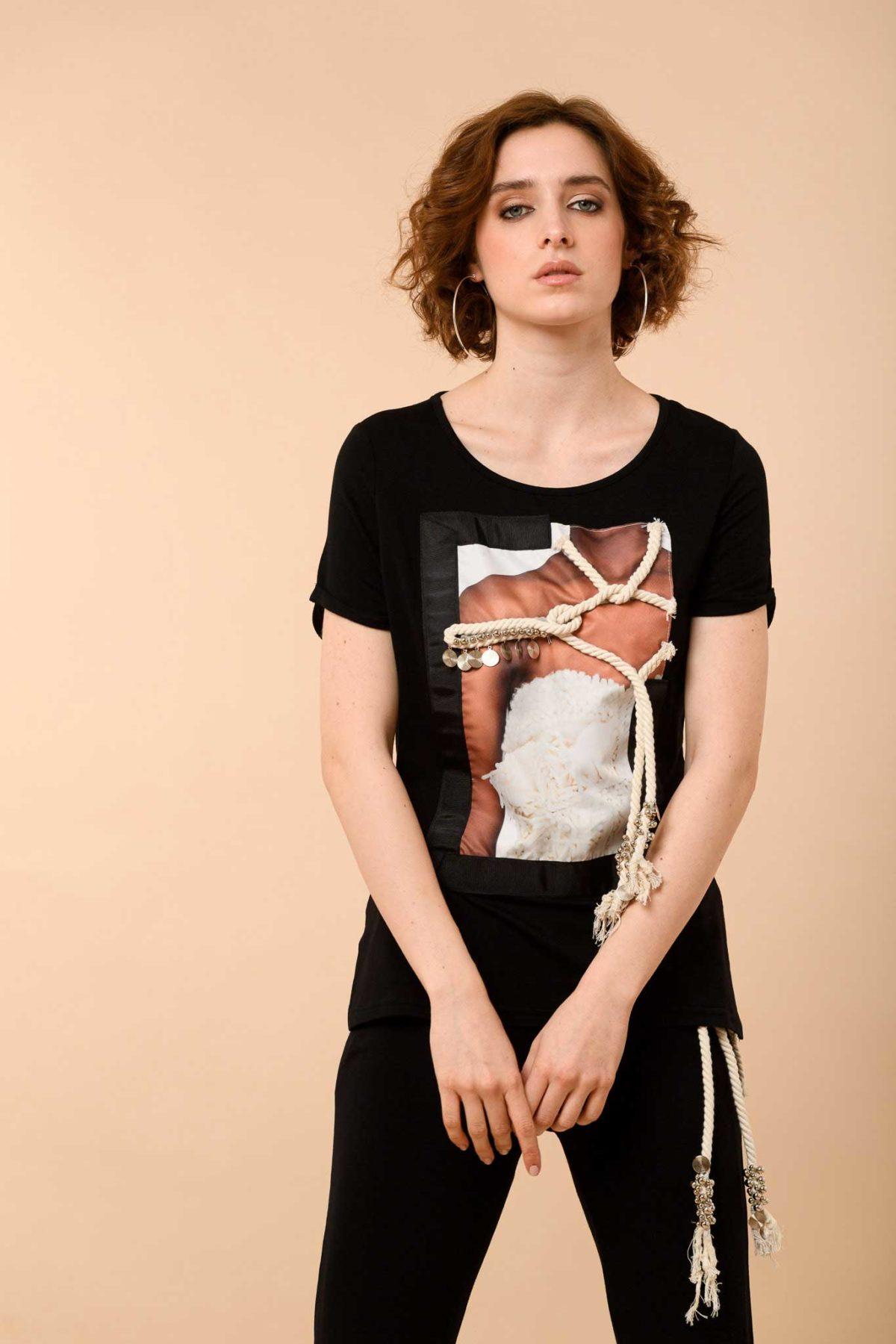 μπλούζα με σχέδιο