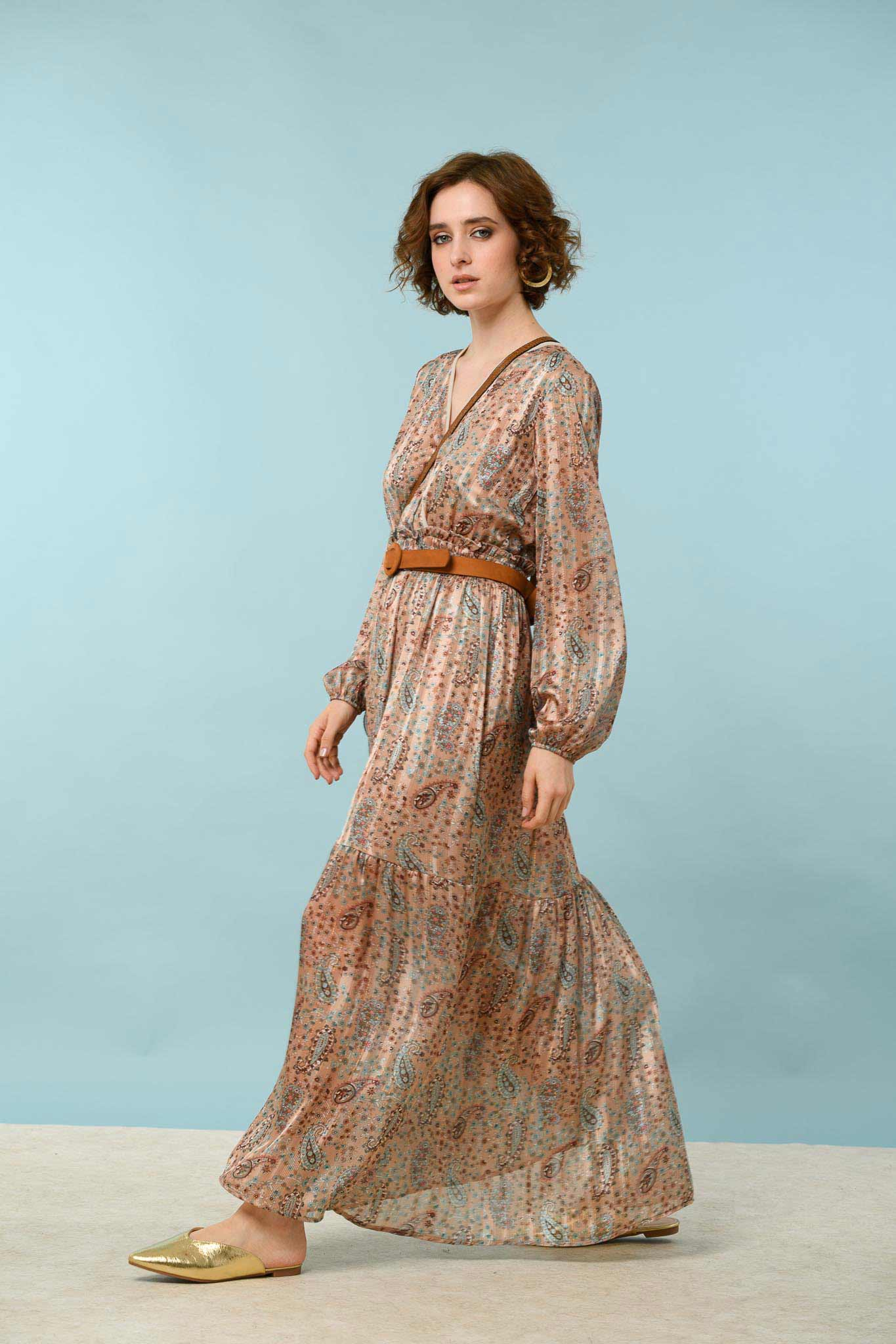 φόρεμα κρουαζέ λαχούρι