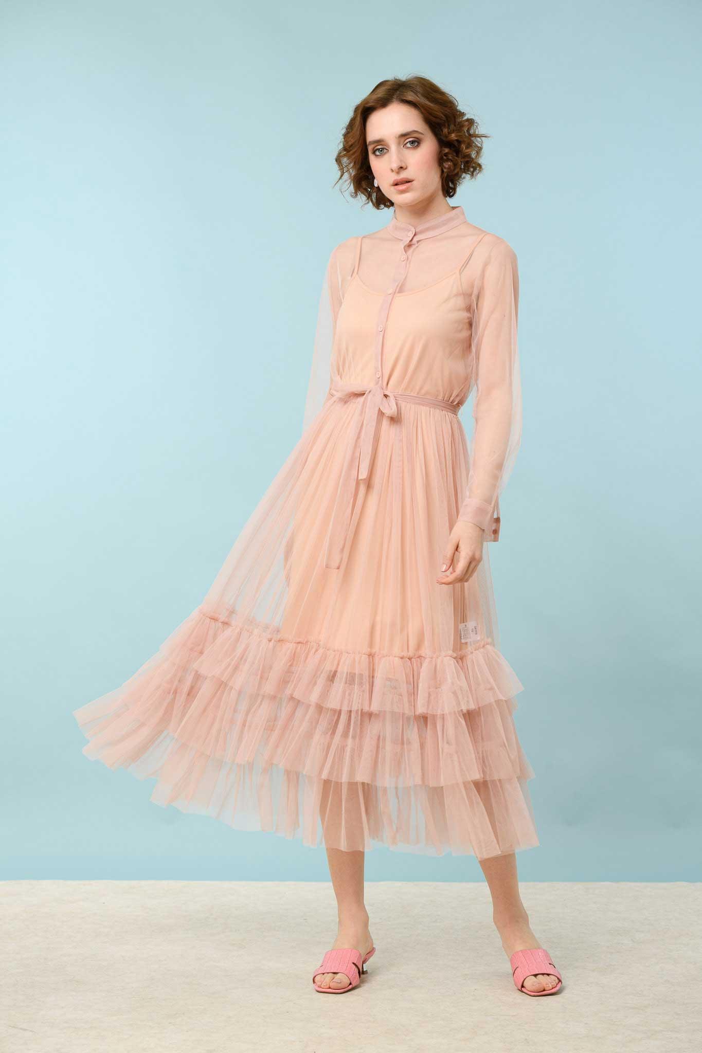 φόρεμα τούλι