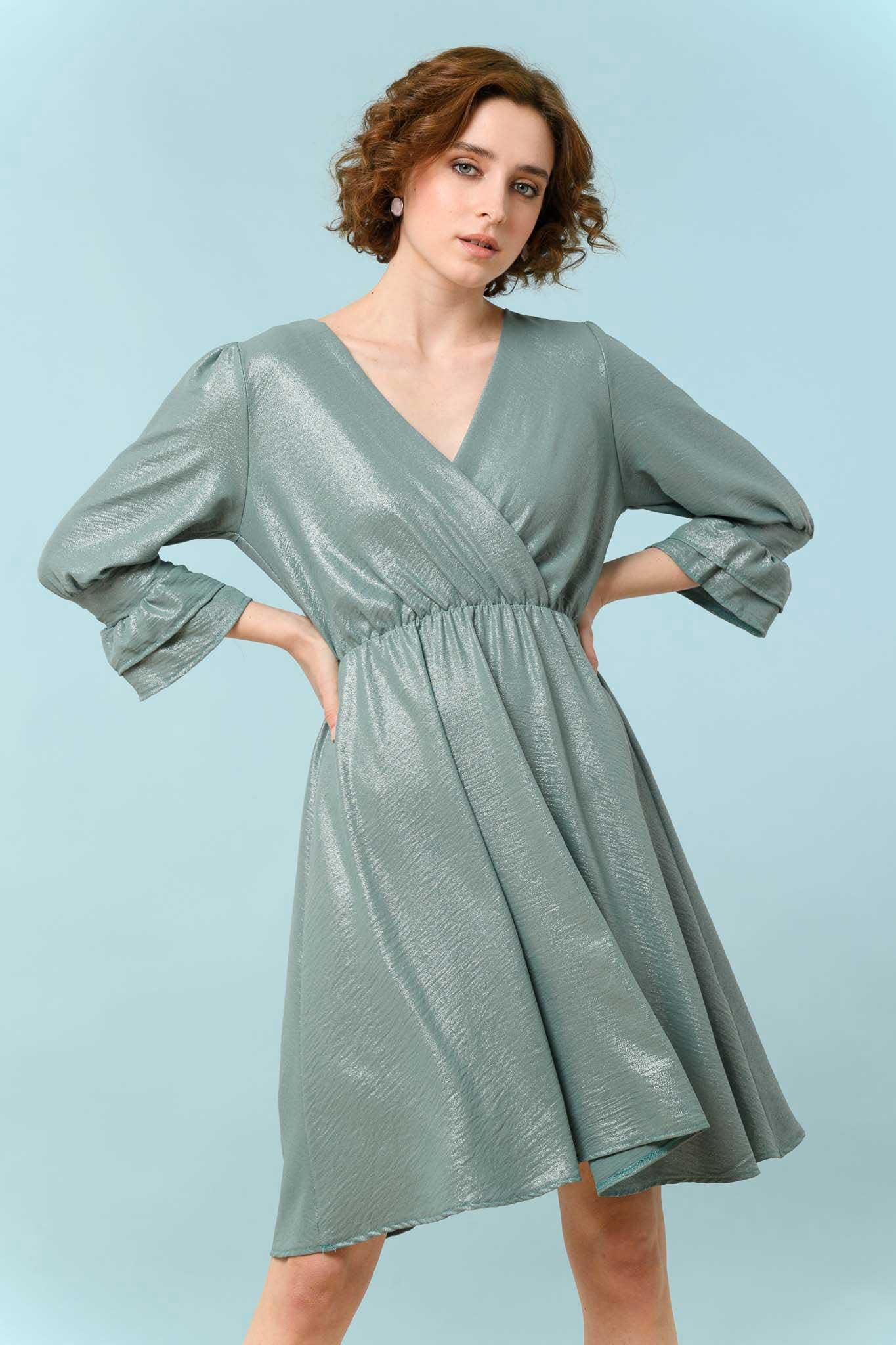 φόρεμα μίντι κρουαζέ