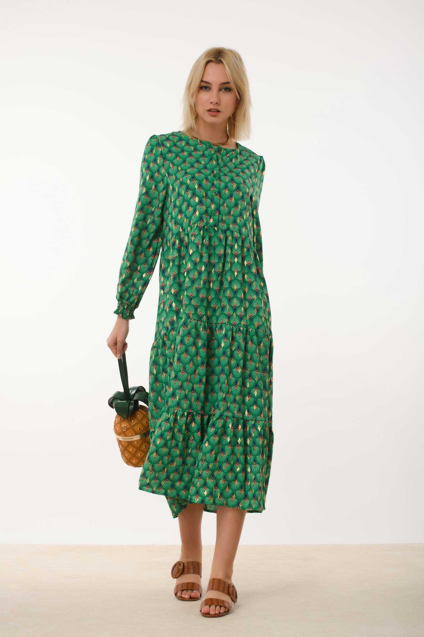 φόρεμα Maxi print laxouri