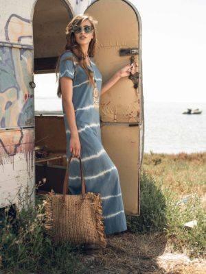 Φόρεμα μπατίκ print
