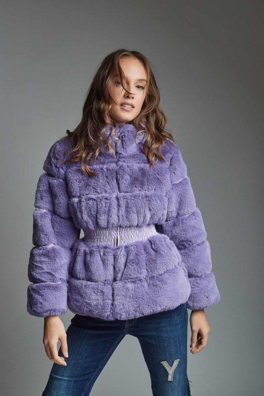 faux fur coat womans style